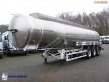 Magyar Fuel tank inox 37.4 m3 / 7 comp / ADR 04/2020 Auflieger gebrauchter Tankfahrzeug