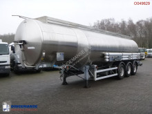 Magyar Fuel tank inox 38.4 m3 / 8 comp semi-trailer used tanker