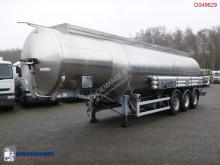 Magyar tanker semi-trailer Fuel tank inox 38.4 m3 / 8 comp