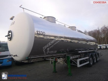 Magyar Food tank inox 32 m3 / 3 comp semi-trailer used food tanker