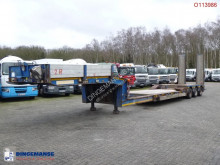 Semi remorque Faymonville semi-lowbed trailer / extendable 8.1 m / 60 t / 3 steering axles porte engins occasion