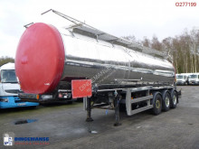 Clayton Chemical tank inox 30 m3 / 1 comp semi-trailer used chemical tanker