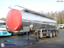 Clayton Chemical tank inox 30.4 m3 / 1 comp + pump semi-trailer used chemical tanker