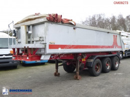 Trailer Meierling Tipper trailer alu 21 m3 + tarpaulin tweedehands kipper
