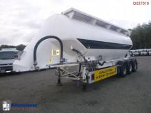 Feldbinder Powder tank alu 40 m3 / 1 comp semi-trailer used tanker