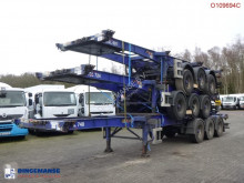Semitrailer SDC Stack - 3 x Container trailer 20-30-40-45 ft (sliding) containertransport begagnad