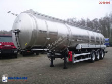 Magyar Fuel tank inox 39.5 m3 / 9 comp semi-trailer used tanker