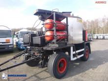 GTA 11 HIIR bitumen / asphalt tank / boiler 4.3 m3 drawbar trailer használt egyéb félpótkocsi