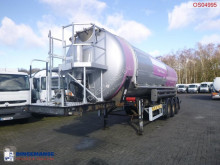 Semi reboque Weightlifter Powder tank alu 37 m3 (tipping) cisterna alimentar usado