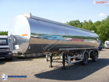 BSLT Chemical tank alu 30 m3 / 1 comp (axle missing) semi-trailer