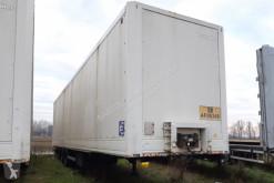 Semitrailer Lecitrailer SEMIRIMORCHIO, FURGONATO, 3 assi transportbil begagnad