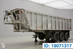 Benalu 26 cub in alu semi-trailer used tipper