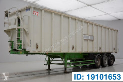Benalu 54 cub in alu semi-trailer used tipper