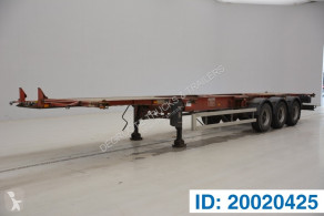 Trailer Desot Skelet 20-30-40-45 ft tweedehands containersysteem