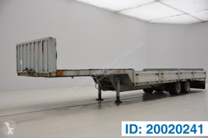 Semi remorque Titan Low bed trailer porte engins occasion