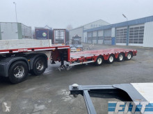 ES-GE heavy equipment transport semi-trailer 2x 4ass semi dieplader, 5mtr uitschuifbaar