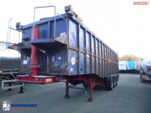 Semi remorque Tipper trailer steel 49 m3 (step deck) benne occasion