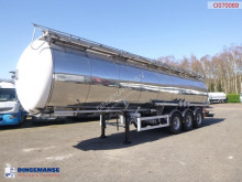 Feldbinder Chemical tank inox 37.5 m3 / 1 comp / ADR 06-2020 semi-trailer