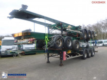 Semitrailer Stack - 3 x container trailer 20-40 ft containertransport begagnad