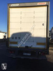 naczepa furgon Fruehauf
