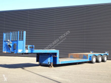 Heavy equipment transport semi-trailer LOW-LOADER / 3 X STEERING AXLE / LOW-BED