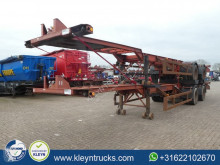 Semitrailer Pacton 40 FT BPW full steel containertransport begagnad