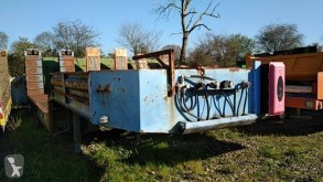 Louault heavy equipment transport semi-trailer 4 ESSIEUX