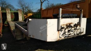 Robuste Kaiser 2 essieux semi-trailer used heavy equipment transport