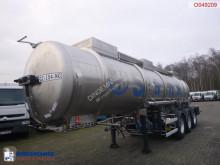 Semirimorchio Magyar Chemical tank inox 21 m3 / 1 comp cisterna prodotti chimici usato