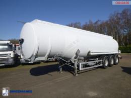 Félpótkocsi Magyar Fuel tank inox 38.4 m3 / 8 comp / ADR 01/2021 használt tartálykocsi