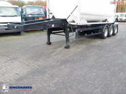 Semirimorchio tank container trailer 20 ft portacontainers usato