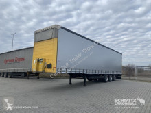 Trailer Schmitz Cargobull Varios Curtainsider Side door both sides tweedehands Schuifzeilen
