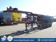 Semiremorca Pacton 40 FT BPW full steel transport containere second-hand