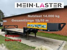 semi remorque Langendorf Tieflader Nutzlast 16.000 kg 6 m langes Tiefbett