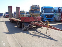 Robuste Kaiser heavy equipment transport trailer Oplegger belg trailer