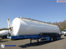 LAG Powder tank alu 63 m3 (tipping) semi-trailer