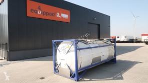 تجهيزات الآليات الثقيلة هيكل العربة صهريج 24.758L TC, 2 comp.(12.308L/12.450L), L4BN, IMO1, T11, valid 5y insp. 01/2021