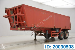 Stas 31 cub in alu semi-trailer used tipper