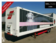 semi remorque Krone SZ / BPW / Rolltor / Textiltransport