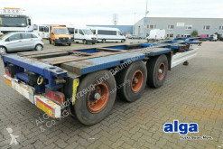 Semitrailer chassi Krone 2x20, 1x30 & 1x40 Fuß Container, Luft-Lift