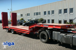 Used heavy equipment transport semi-trailer Goldhofer STU 2-27/80, 2-Achser, doppelte hydr.-Rampen