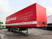 Used box semi-trailer Draco VAN BEURDEN OPBOUW / STUUR AS
