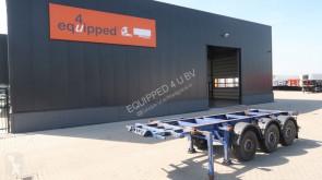 Mafa 20FT/3-Achsen, ADR, Leergewicht: 3.650kg, Liftachse, Scheibebremsen semi-trailer