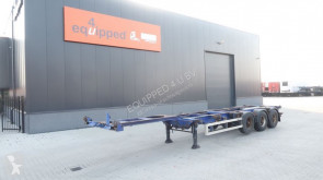 semi reboque Renders 40FT HC, extendable at the rear, liftaxle, BPW
