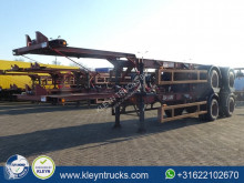 Semirimorchio Fruehauf 40 FT BPW full steel portacontainers usato