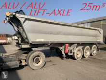 Benalu 25m³ - 3-ESS. SMB - ALU / ALU - ESSIEUX RELEVABLE - SUSP AIR - JANTES ALU / LIFT AXLE - FULL ALU - ALU WHEELS - AIR SUSP. semi-trailer