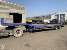 nc CASTERA LOW LOADER + RAMPS - STEEL SPRING SUSP. - Wideners - Lowbed 95cm high - length (3m50 + 8m30) - GOOD CONDITION