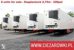 semi remorque Schmitz Cargobull MEGA 2.80 M DOPPELSTOCK 5 UNITS!