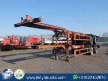 Ackermann container semi-trailer