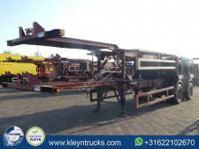Ackermann container semi-trailer FRUEHAUF 40 FT BPW full steel acerbi